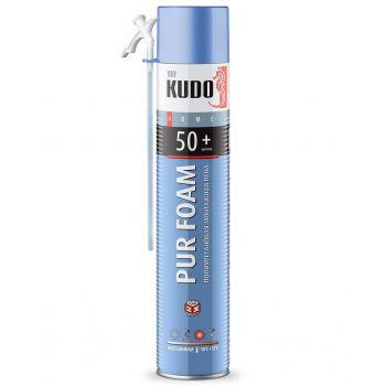 Пена полиуретановая монтажная бытовая всесезонная  KUDO HOME 50+