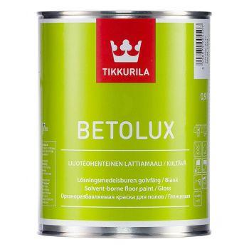 Краска для полов Tikkurila BETOLUX A гл 0,9л
